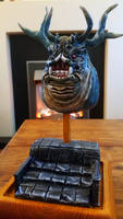Asylum Demon - Dark Souls Sculpture (Finished) by makerforge