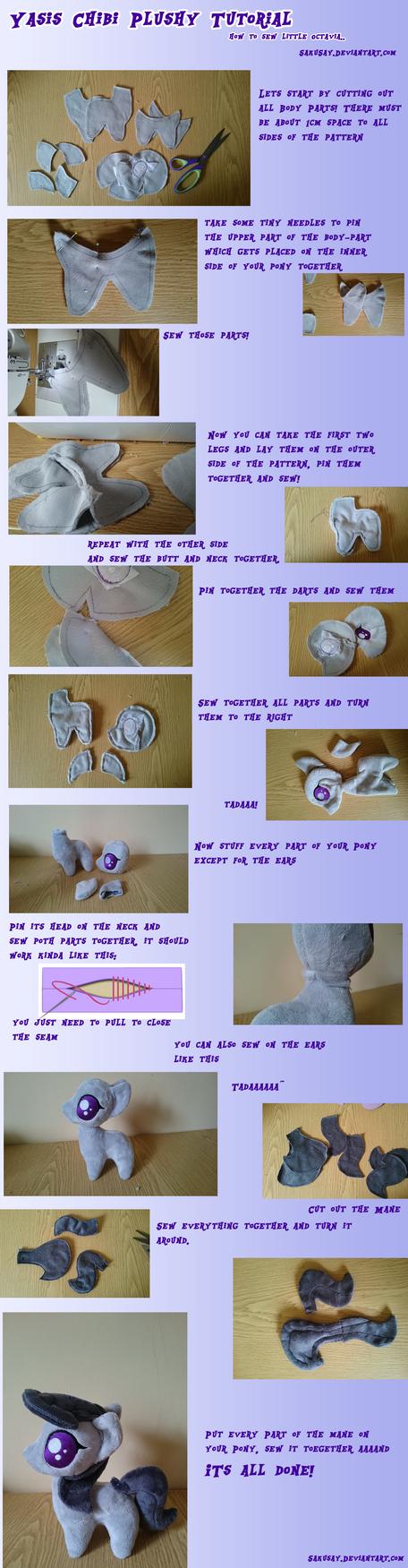 Yasis How to plush a Chibi Octavia Tutorial by SakuSay