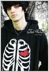Heart and Bones FVC hoodie by williancosta