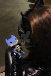 Catwoman and Her Doll