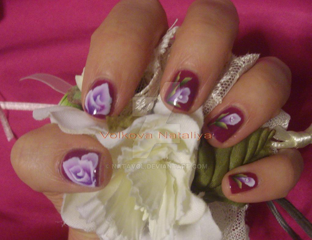 nail art sulle unghie corte smalto semi permanente by natavol on