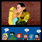 The Avengers meet Sigyn
