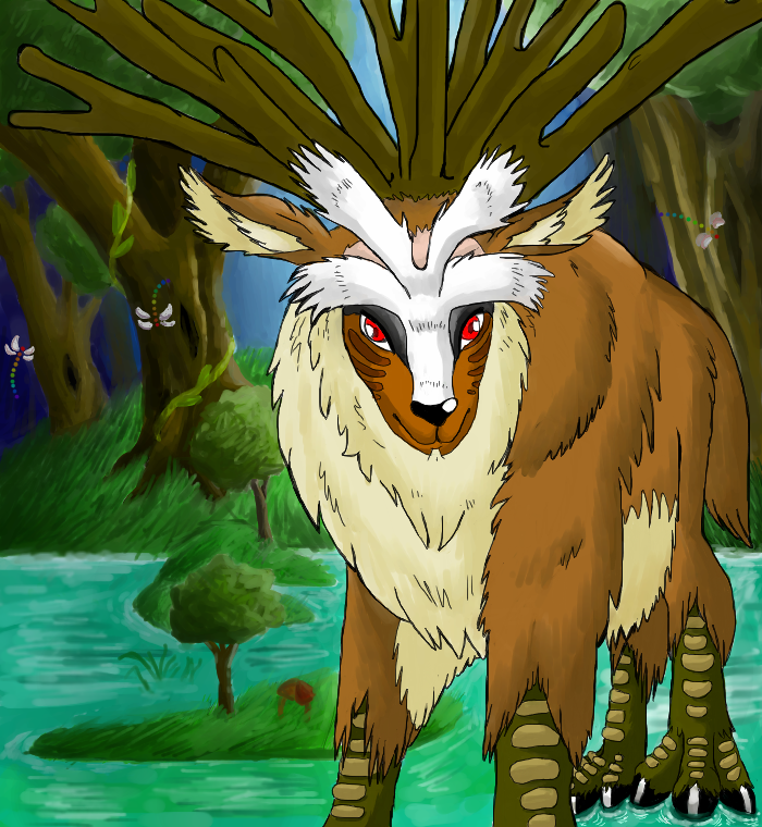 Images of Princess Mononoke Forest Spirit - #rock-cafe