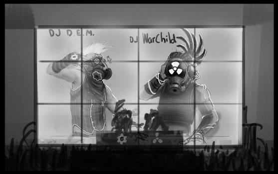 Music Plays The DJs WIP
