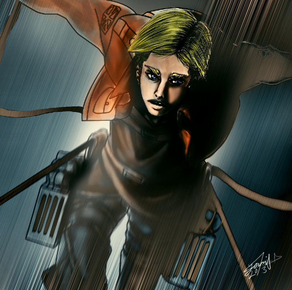 Erwin Smith- Attack on titan by younesanimedrawing on DeviantArt