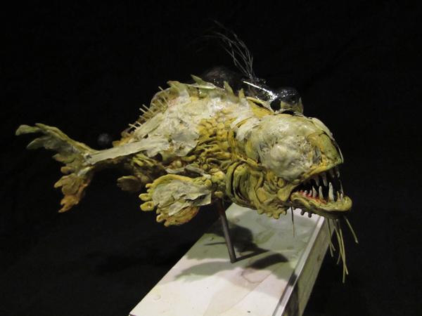 Weird Fish Skull 7