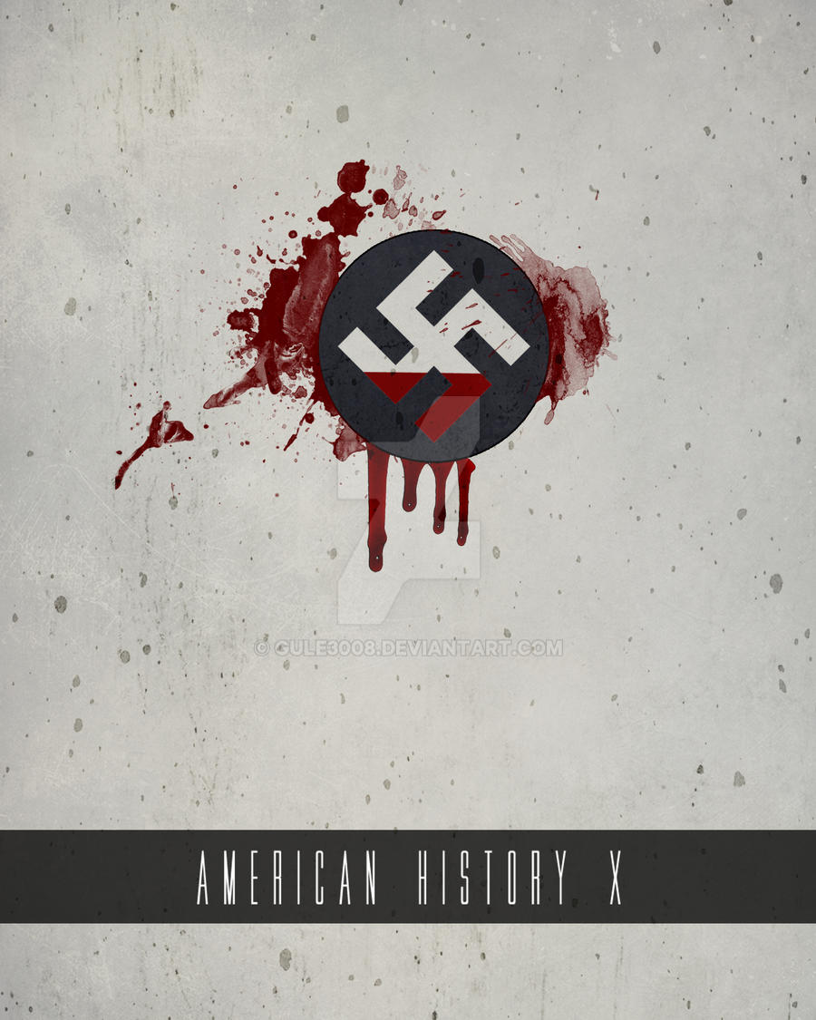 American history x minimal poster by gule3008 on deviantart for Art minimal facebook