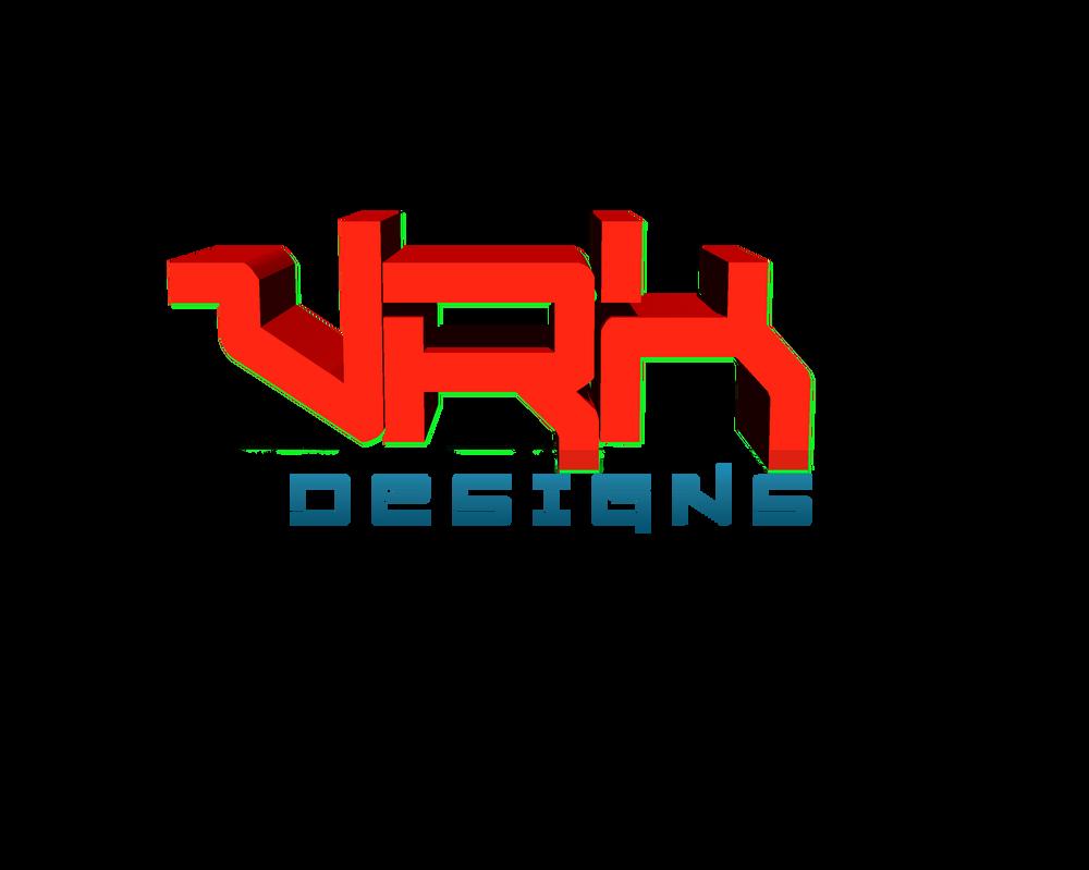 Vrk Deseign 3D Logo by visakh123