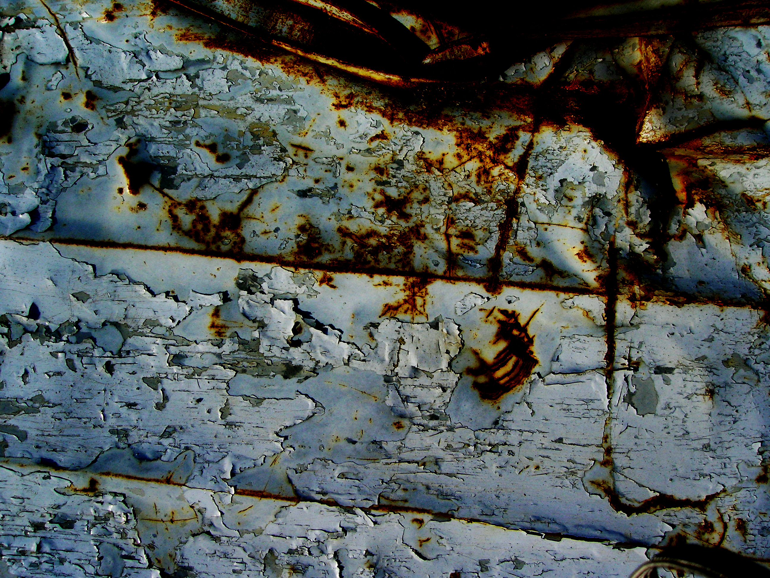 Rusty Sheet Metal Texture 2 by Bound-By-Leather