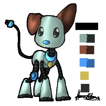 Zero, the robot dog