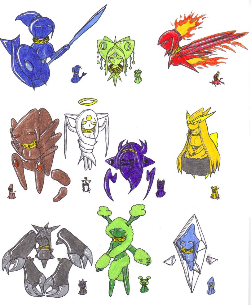 Elementals V.2. by metalzaki