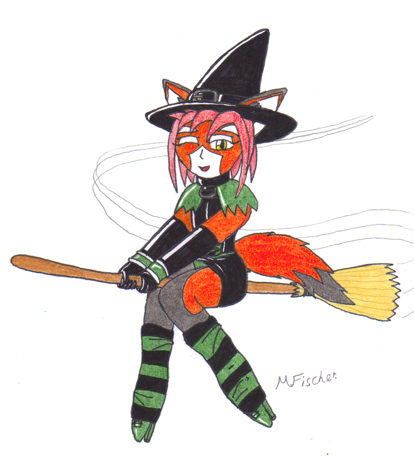 A fluffy halloween by metalzaki