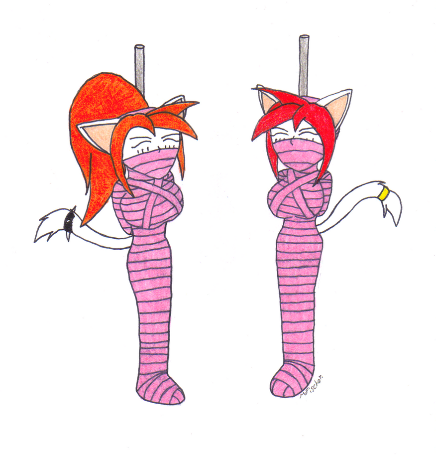mummy kate and Terra by metalzaki