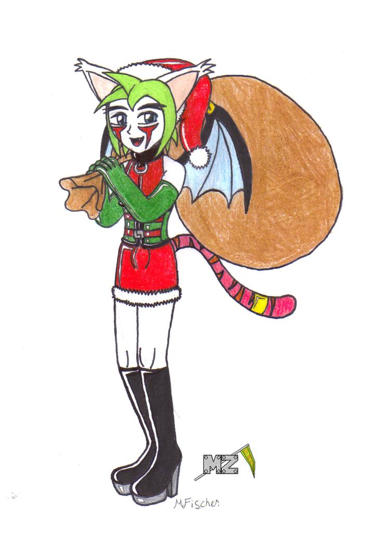Zaki the Kinky Santa by metalzaki