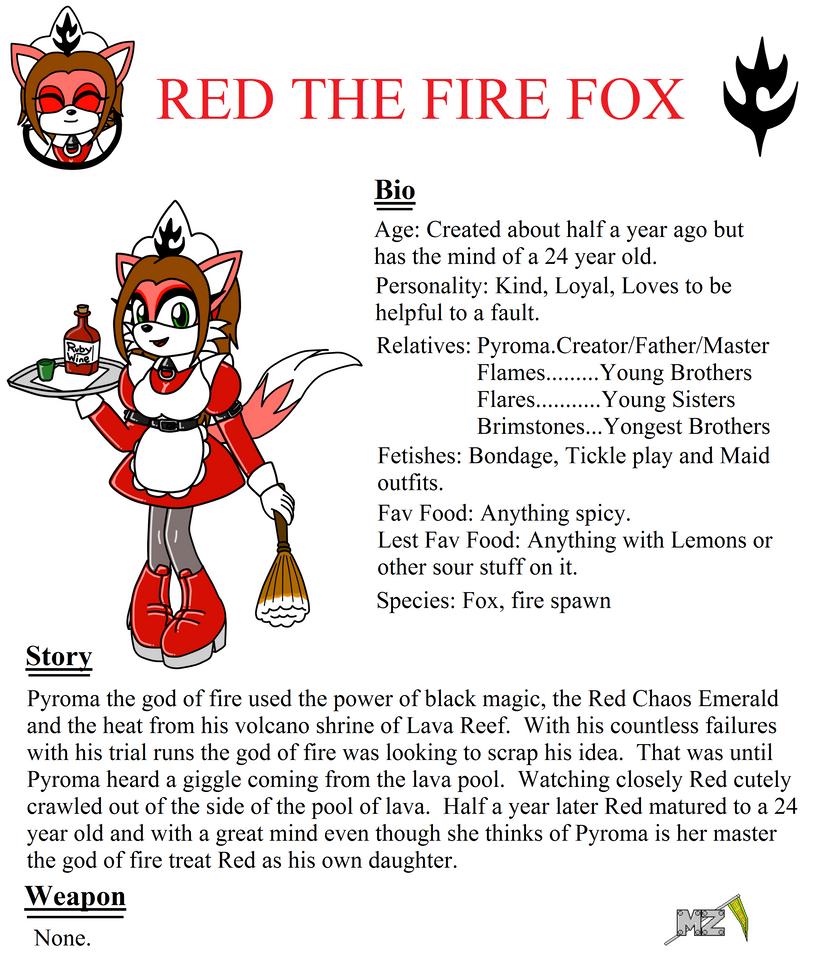 Bio Red the Fire Fox by metalzaki