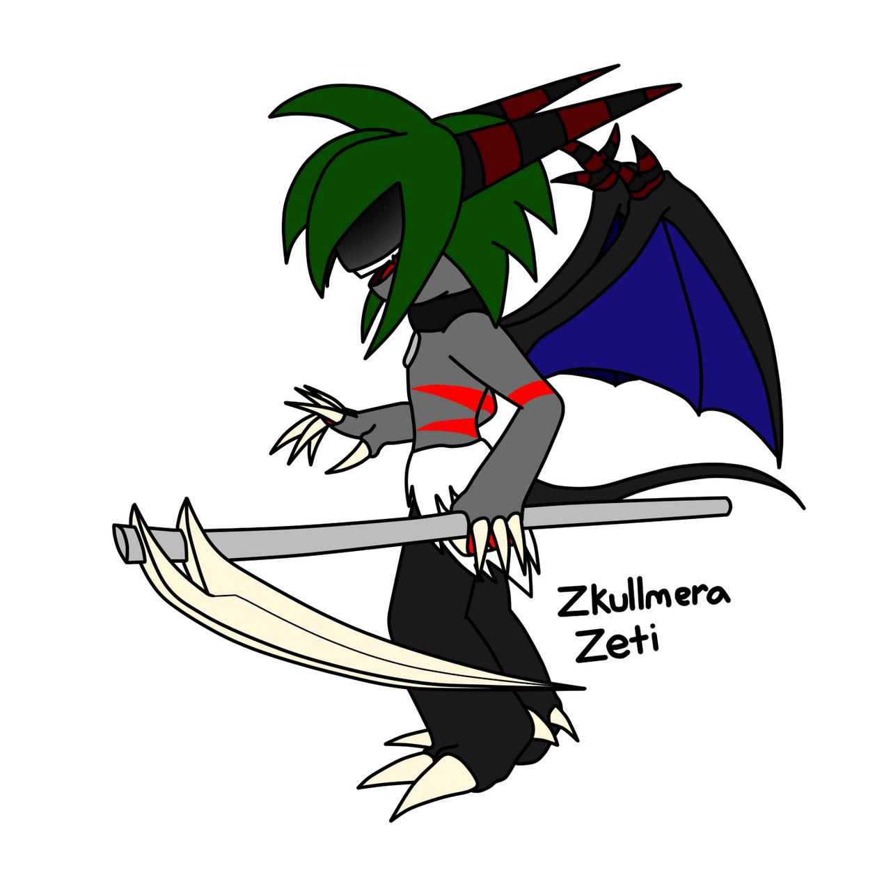 Zkullmera the Zeti by metalzaki