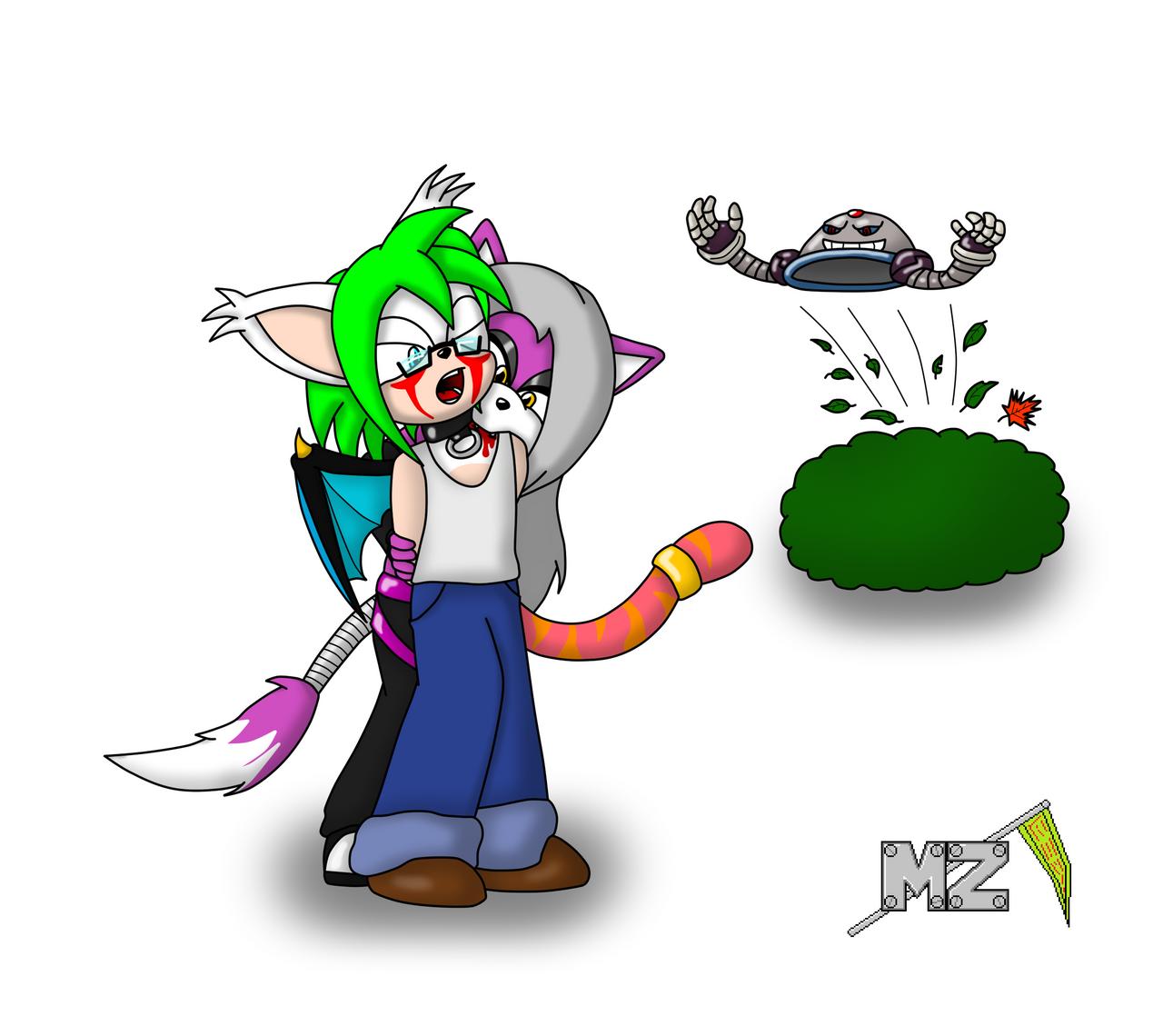 commission: thebloodredwolf 1 of 3 by metalzaki