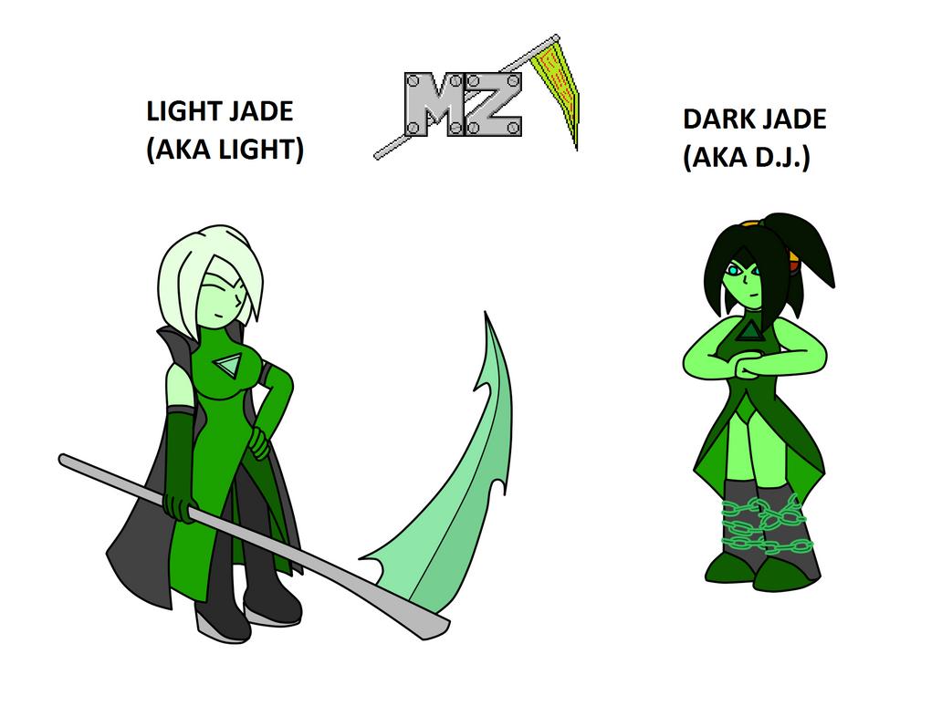 Twin Jade Gems by metalzaki