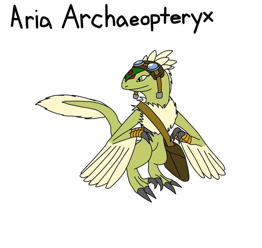 Neo Robia contest entry: Aria Archaeopteryx by metalzaki