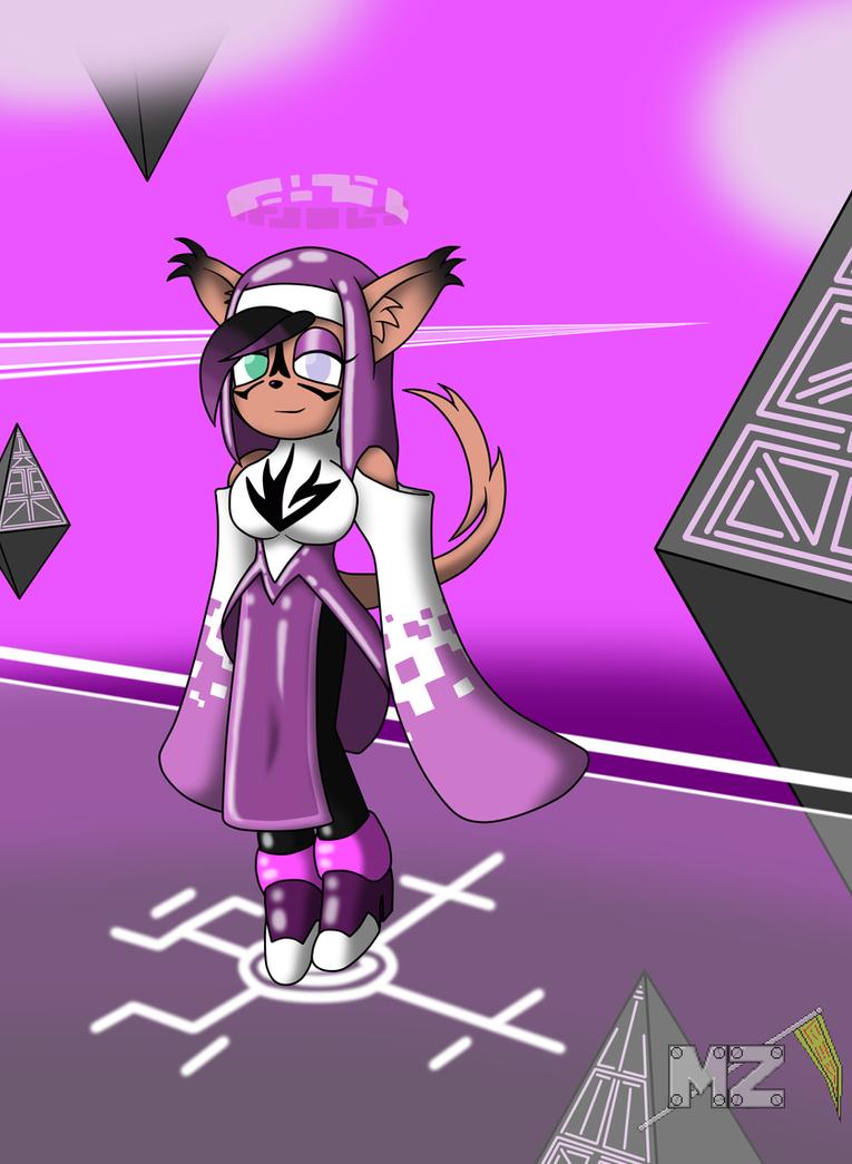 Violet the A.I. Fusion by metalzaki