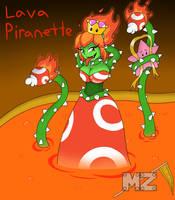 Lava Piranette by metalzaki
