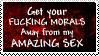 Morals are subjective. by OurHandOfSorrow