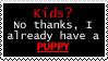 Puppie Stamp by OurHandOfSorrow