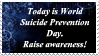 World Suicide Prevention Day by OurHandOfSorrow