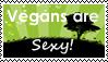 Vegans are Sexy! (requested stamp) by OurHandOfSorrow