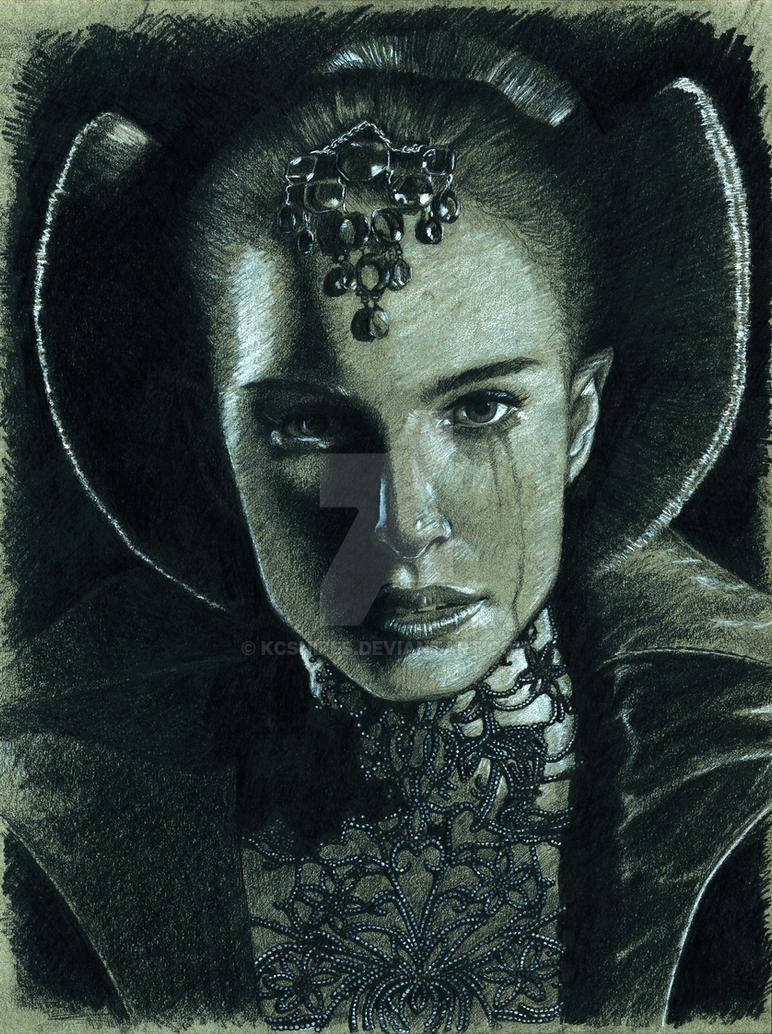Queen Amidala - Sad TImes by kcsnipes