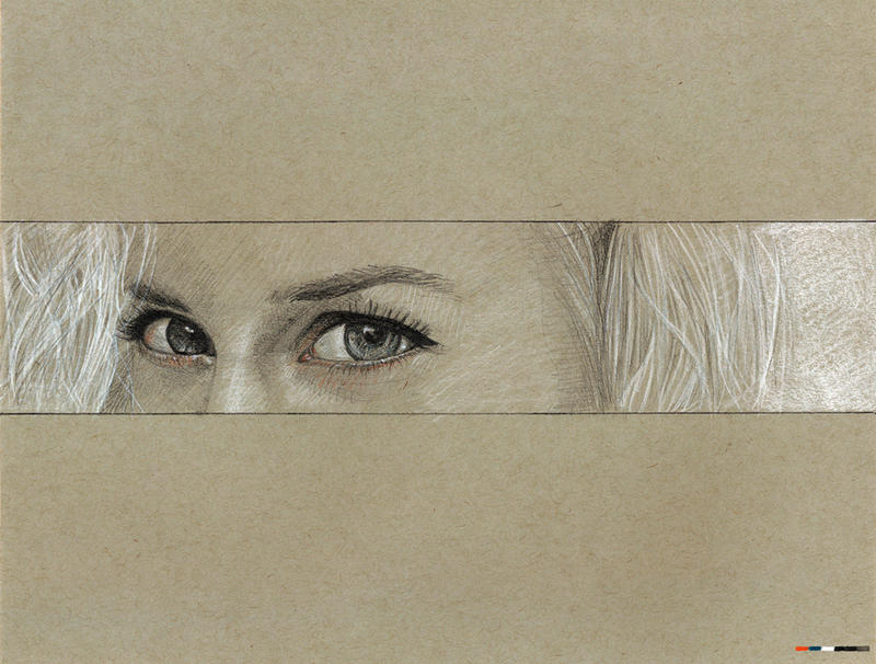 Kim's Eyes by kcsnipes