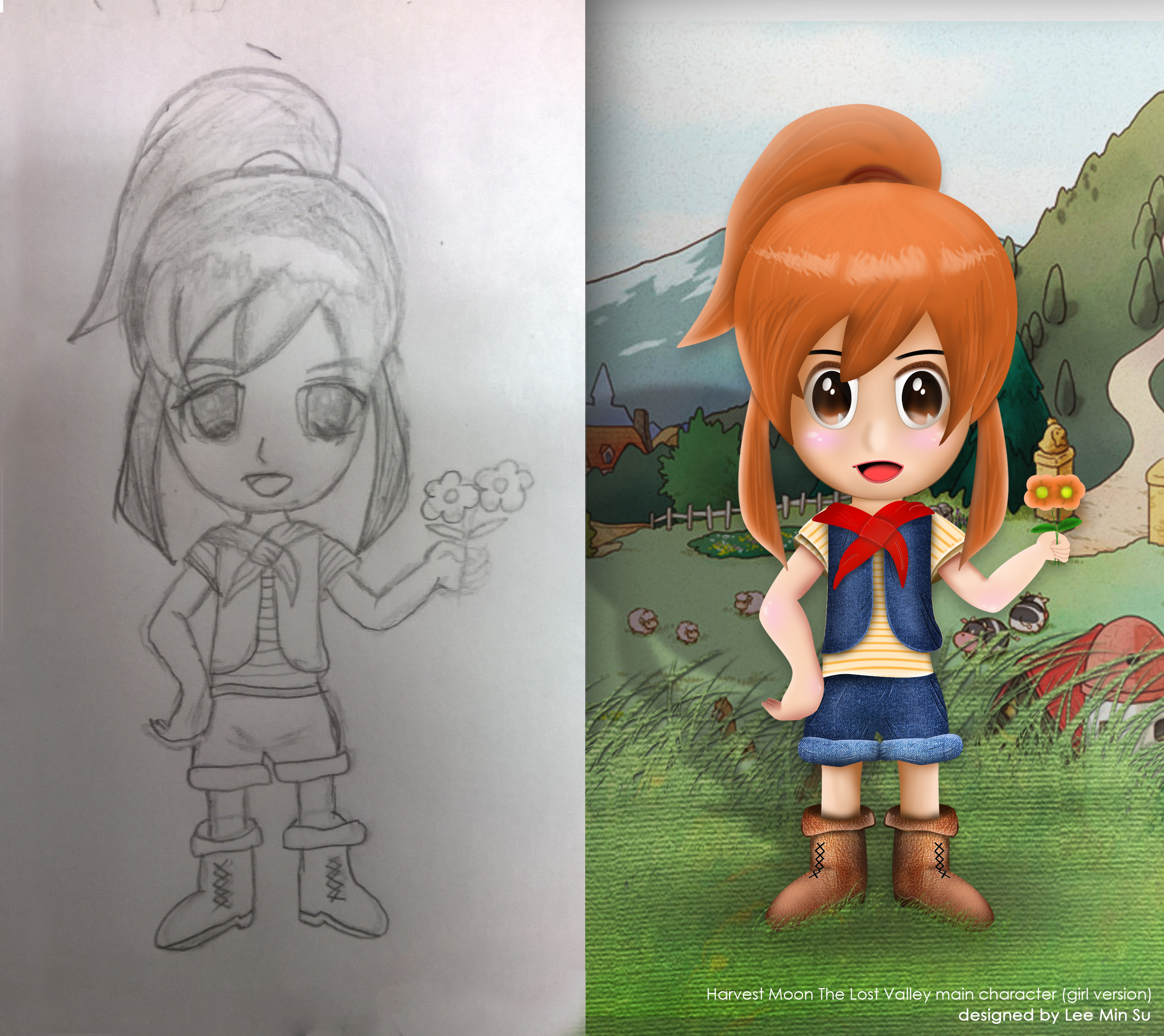 When Character Is Lost Everything Is Lost Th Harvest Moon The Lost Valley Main Character