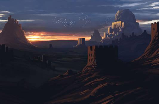 Castle Valley - Sketch Refined + Video!