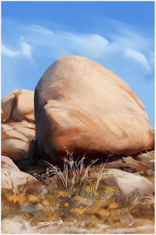 Rocks Study by Icecoldart