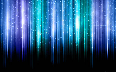 Aurora Borealis Blue