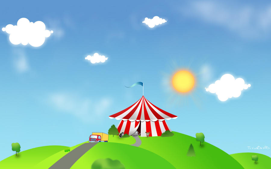 boys wallpaper the circus - photo #20