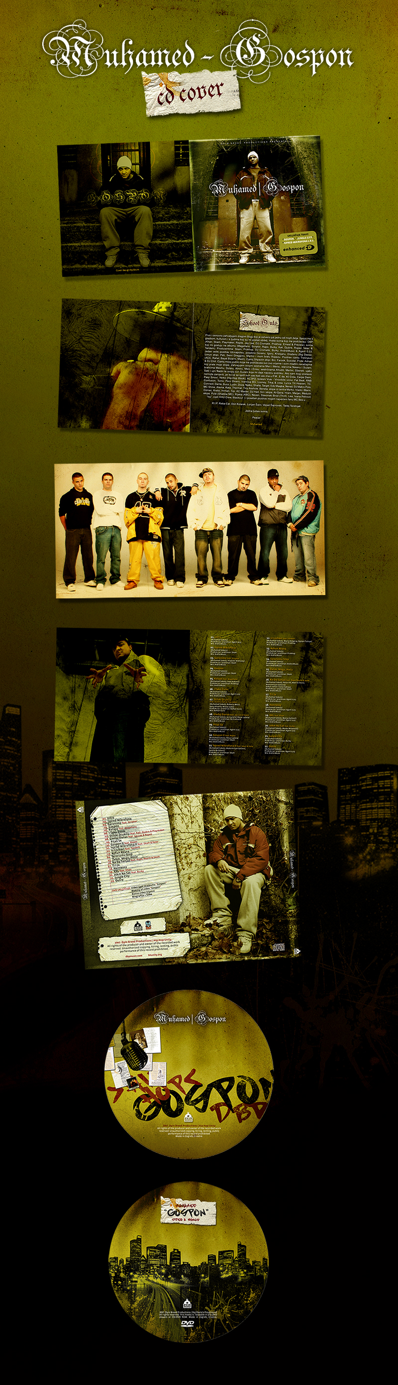 Muhamed - Gospon CD Cover by skam4