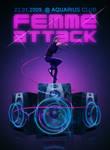 Femme Attack flyer