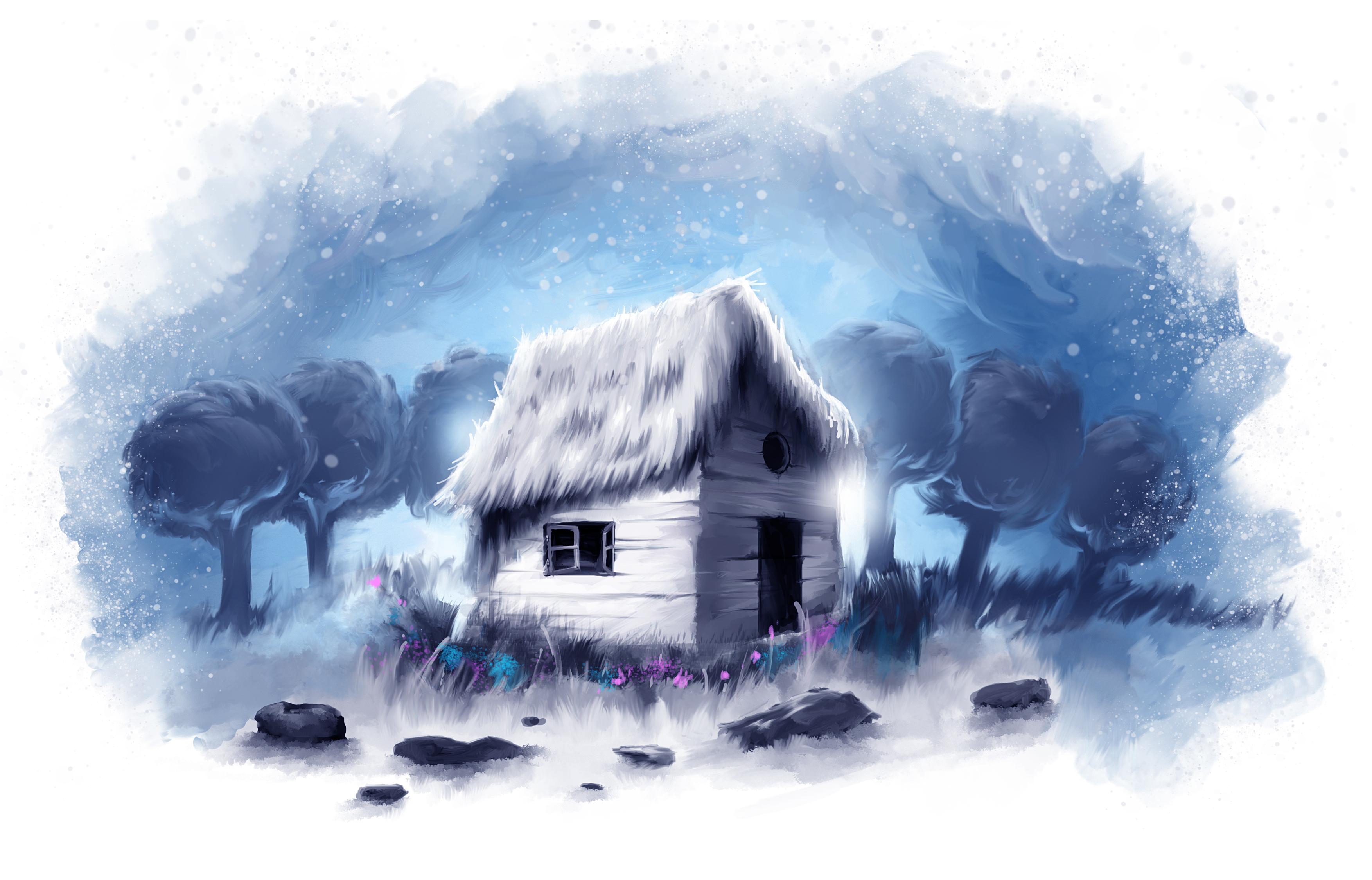 Cabin by skam4