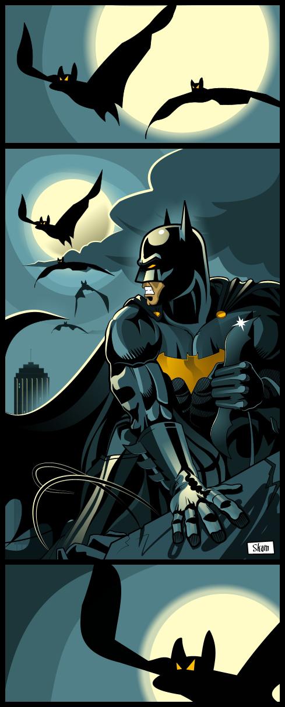Batman by skam4
