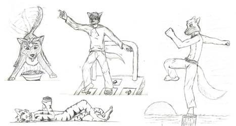 Randomisty doodles of furry friends