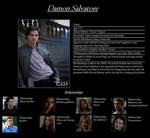 Damon Salvatore Profile
