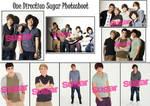 One Direction Sugar Photoshoot