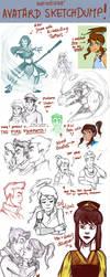 Avatard Sketchdump by katiediazz