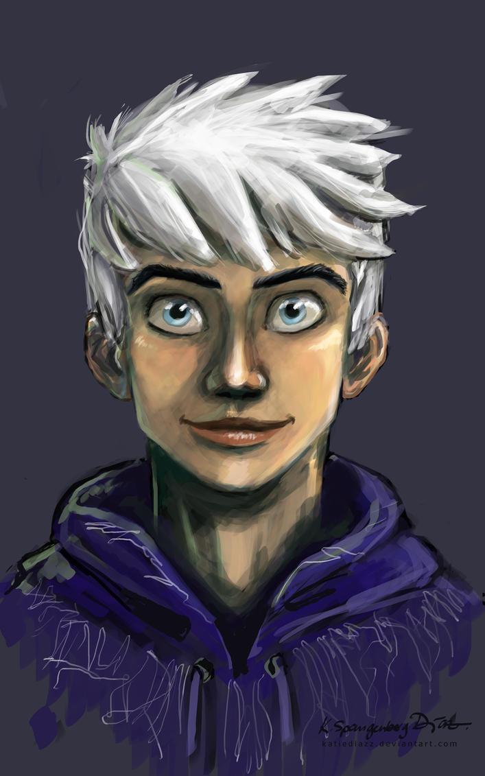 Jack Frost - Portrait by katiediazz