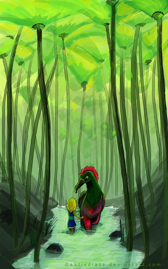 The Forgotten Forest by katiediazz