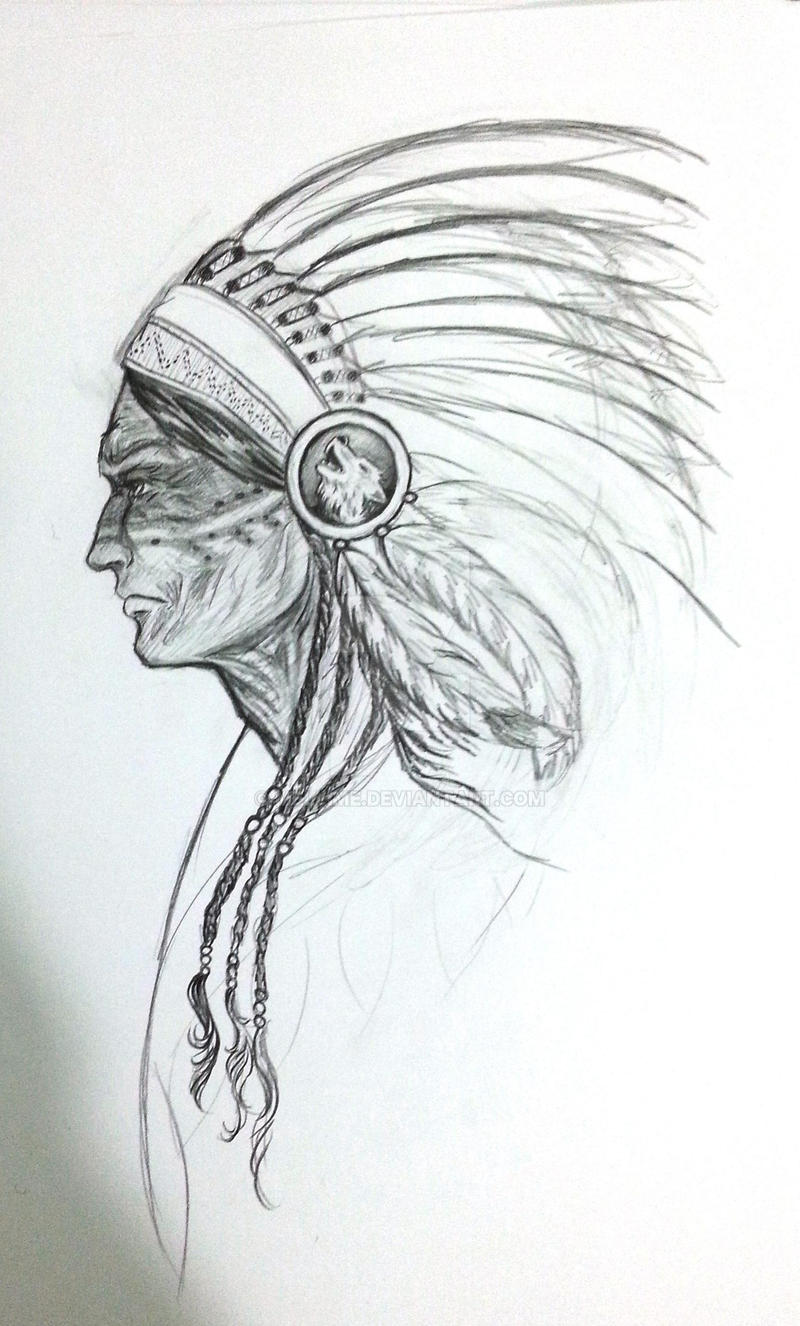 Shaman Tattoo WIP by melime6
