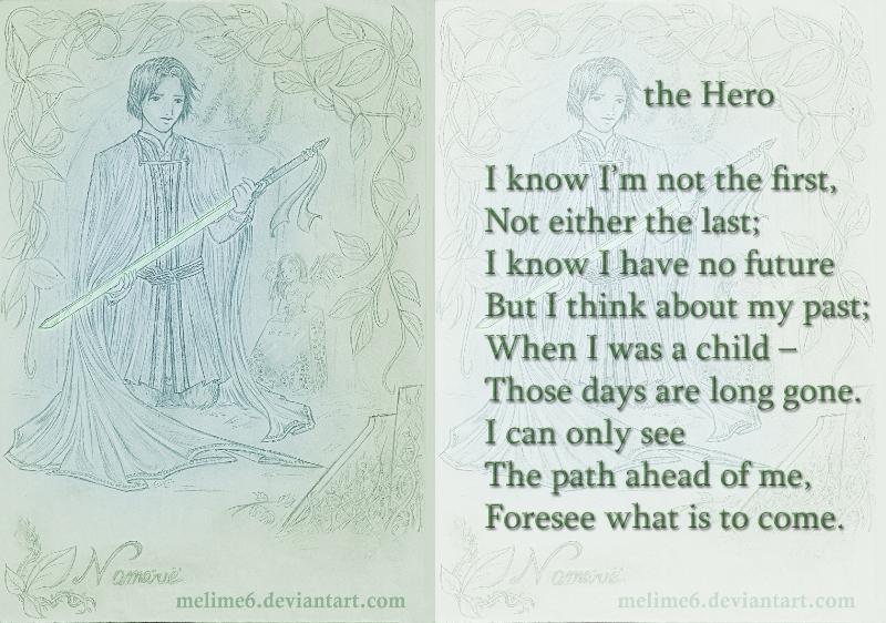 Hero - poem by Mellime on DeviantArt