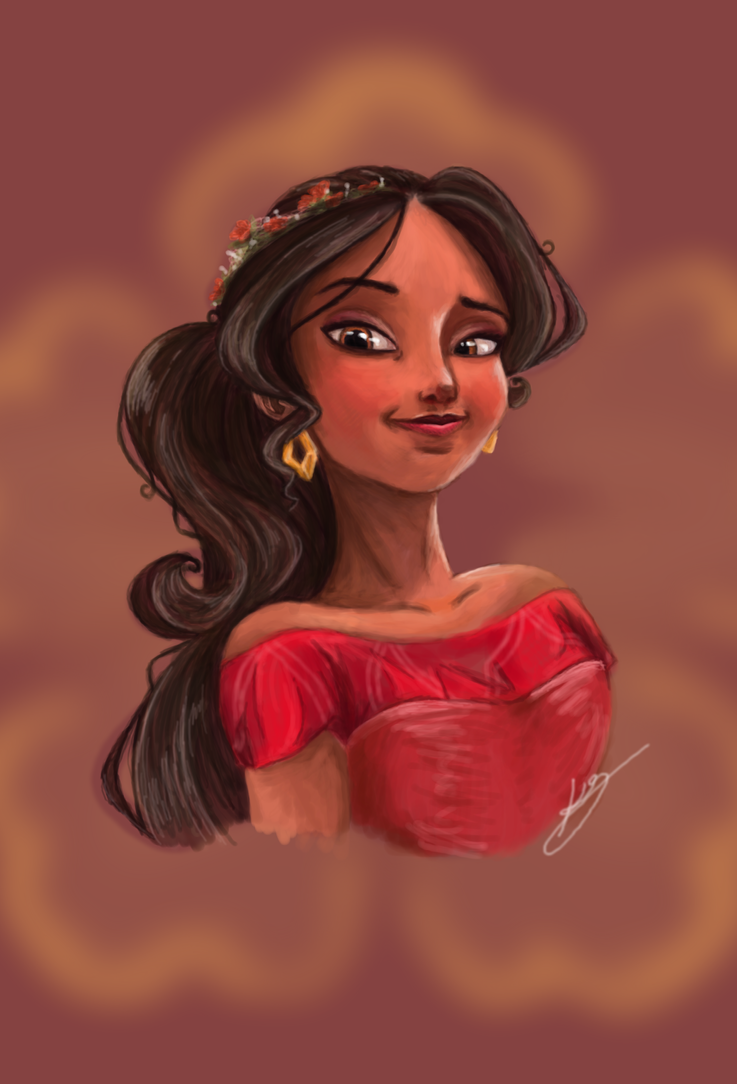 Crown Princess, Elena of Avalor by Chocolate-Pyrus