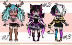 Chibi Adoptable Batch 2 - !OPEN! - Price Drop by Chocolate-Pyrus
